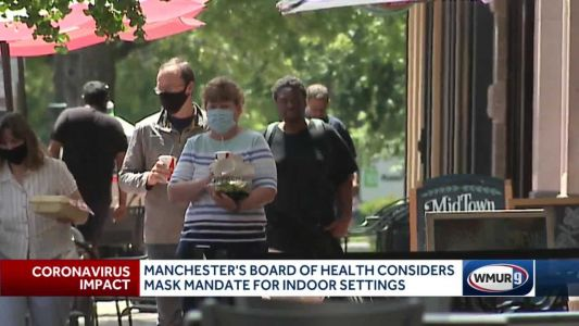 Manchester health officials say mask mandate could help slow COVID-19