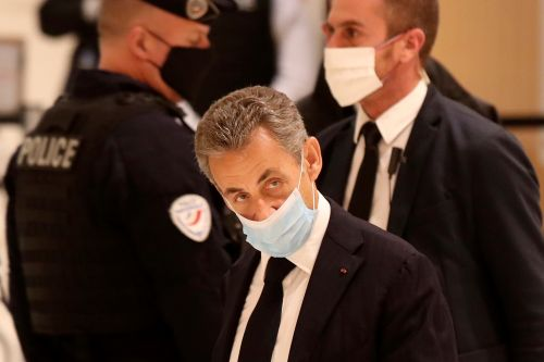 French ex-President Nicolas Sarkozy stands trial for corruption