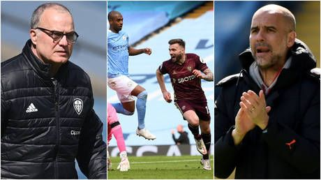 'Marcelo Bielsa masterclass': Ten-man Leeds United STUN Premier League pacesetters Manchester City at the Etihad Stadium