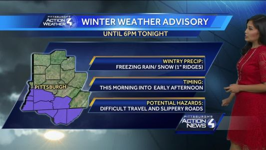 Snow and Wintry Mix Possible for St. Patrick's Day