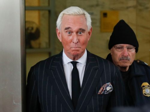 After posting photo seeming to threaten judge, Roger Stone deletes it, says he meant no harm