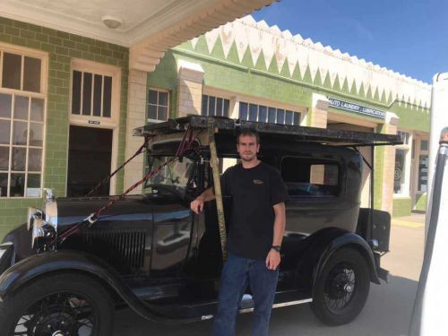 Friday, November 6th: A Cross-Country Journey in a Ford Model-A