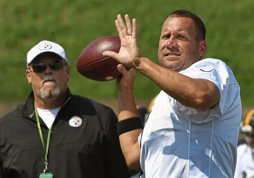 Ben Roethlisberger can't wait to take a hit in Tennessee