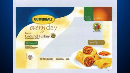 Butterball Recalls 78,000 Pounds of Ground Turkey