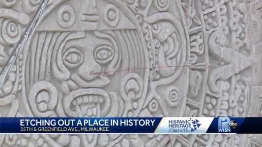 Artist marks Hispanic Heritage Month by creating unique