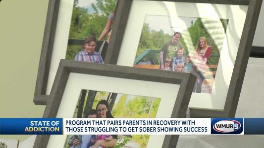 Program that pairs parents in recovery with those struggling to get sober showing success