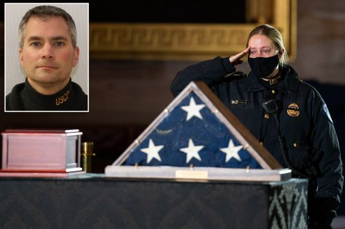 Slain Capitol Police officer Brian Sicknick honored by congressional lawmakers