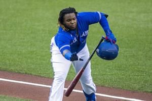 Blue Jays shift Guerrero Jr. across diamond to first base