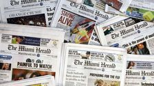 Major Newspaper Chain McClatchy Files For Bankruptcy