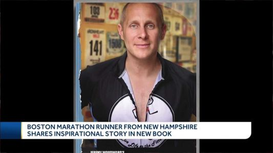 Boston Marathon runner from New Hampshire shares inspirational story in new book