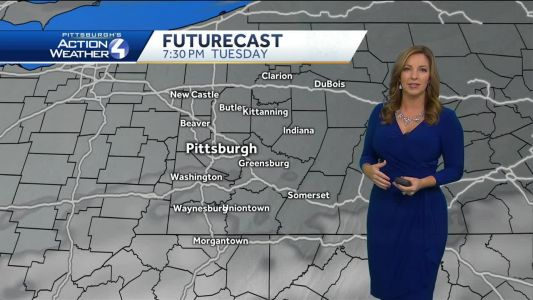 Pittsburgh's Action Weather forecast: Dry night, then rain returns