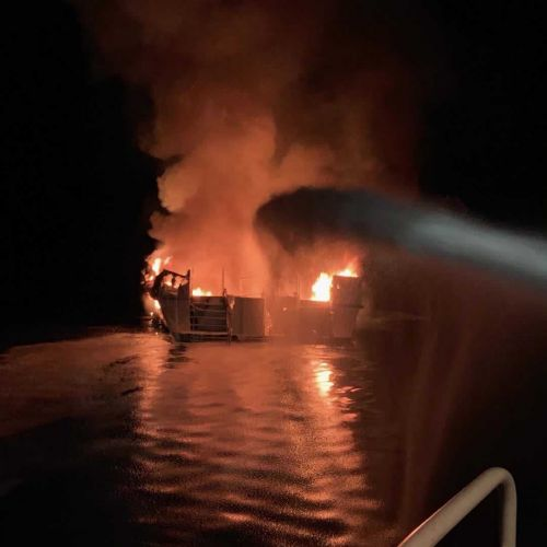 No emergency training for crew on Santa Barbara boat where fire killed 34