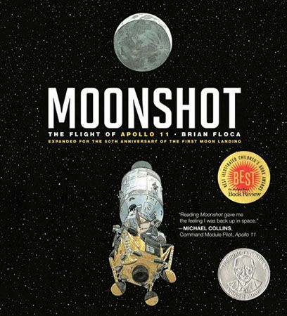 'Moonshot': This Gorgeously Illustrated Book Inspires Apollo 11 Wonder