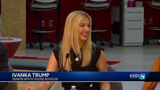 Ivanka Trump part of discussion with Hy-Vee employees