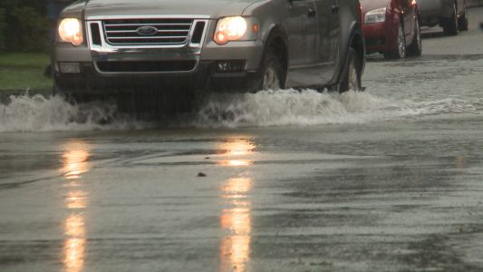 Flooding closes several roads in southern Indiana