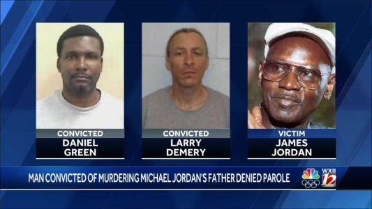 Parole denied for man convicted in the murder of Michael Jordan's father