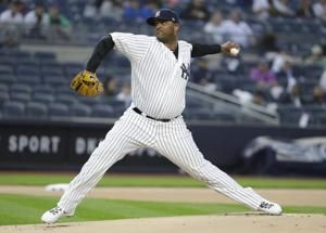 Sabathia gets 1st win of season as Yankees top Royals 6-2