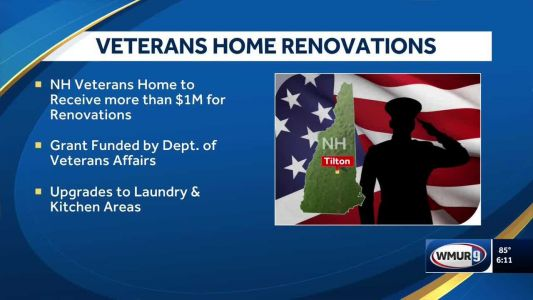 Veterans home getting $1M for laundry, kitchen upgrades