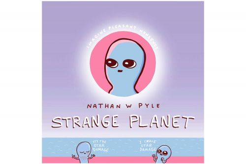 Author Nathan Pyle reveals earthlings through the eyes of an alien
