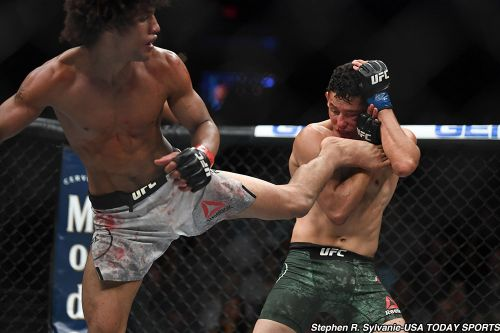 Alex Caceres wants to submit a change-free Steven Peterson at UFC on ESPN 4
