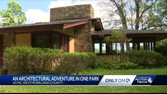 An architectural adventure awaits at Polymath Park in Westmoreland County