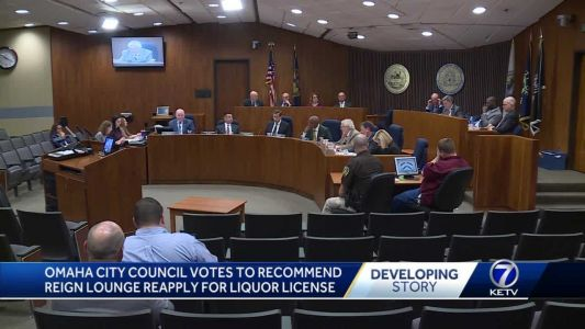 Omaha City Council votes to recommend Reign Lounge reapply for liquor license
