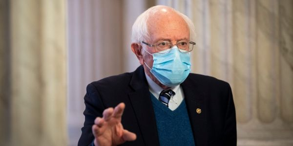 Bernie Sanders urged the Senate to pass COVID-relief measures so young people can date and socialize again