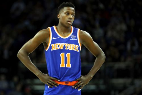 Ntilikina even struggling when it comes to a video-game rating
