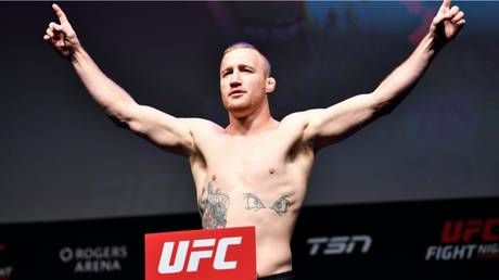 UFC tapping lightweight contender Justin Gaethje to replace Khabib against Tony Ferguson - report