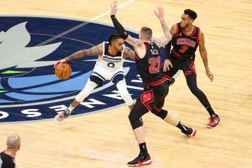 Towns, Russell Push Wolves To 121-117 Win Against Bulls