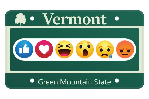 Vermont proposes bill to allow emojis on license plates