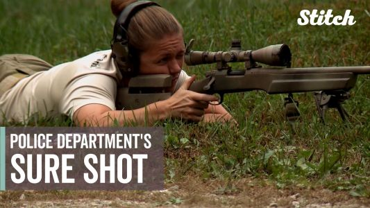Kentucky's only female police sniper stays cool under pressure