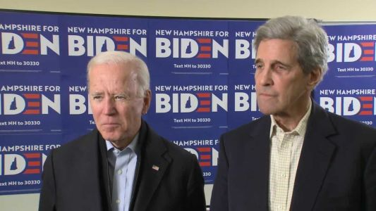 Full interview: Joe Biden and John Kerry talk campaign, impeachment