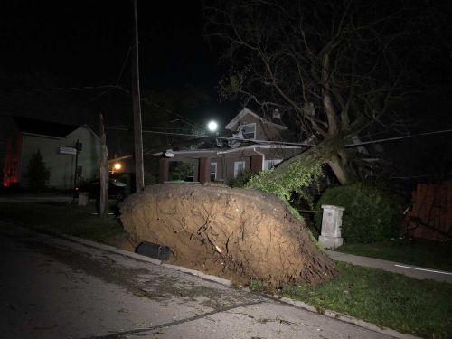 PHOTOS: Storms leave trail of widespread damage across the region