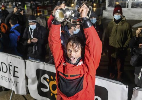 After rescuing rival, Bestaven wins Vendee Globe solo sailing race