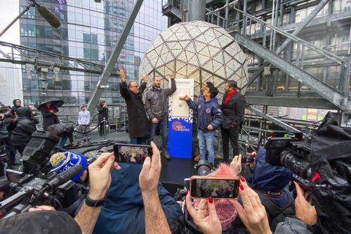 New York City's Times Square to host virtual New Year's Eve ball drop