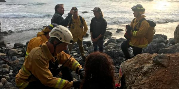 How an Oregon woman whose car plunged off a 250-foot cliff survived for 7 days with broken bones and a collapsed lung