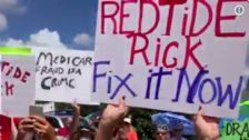 Red Tide Protesters Drive Florida Gov. Rick Scott From Campaign Stop
