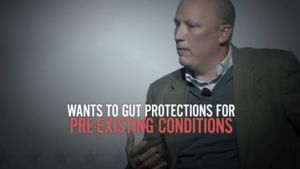 New DCCC TV Ad in TX-21: Chip Roy Sold Out Texans with Pre-Existing Conditions