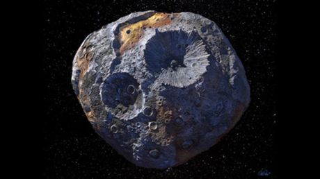 NASA suspects asteroid Psyche is core of planet that never fully formed, models 'metal world' ahead of 2022 mission