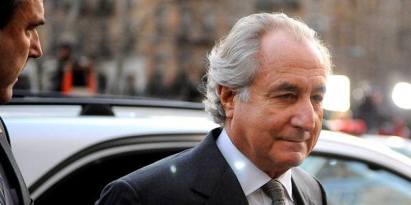 Bernie Madoff, Wall Street financier and Ponzi scheme organizer, has died at age 82