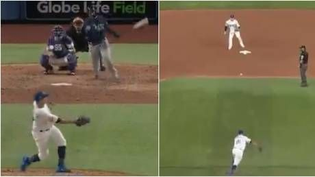 WATCH: LA Dodgers pitcher shows INCREDIBLE reflexes in double play as they beat Tampa Bay Rays in Game 1 of World Series