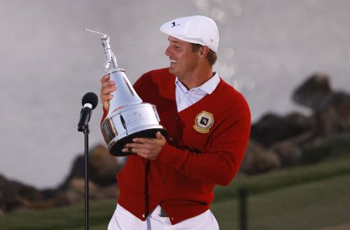 Bryson DeChambeau's statement win came with telling Tiger Woods text
