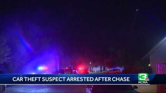 Chase ends with man in custody in Carmichael, Sacramento County Sheriff's Department says