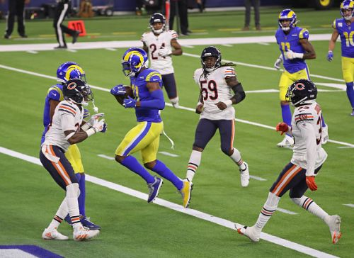 Rams control the pace in a 24-10 win over the Bears on Monday night