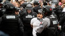 Far-Right And Anti-Fascist Protesters Face Each Other In Portland Demonstrations