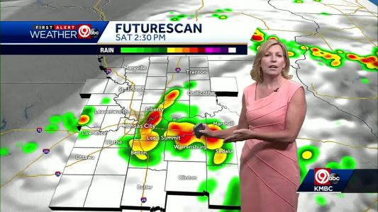 First Alert: Scattered storms likely Saturday