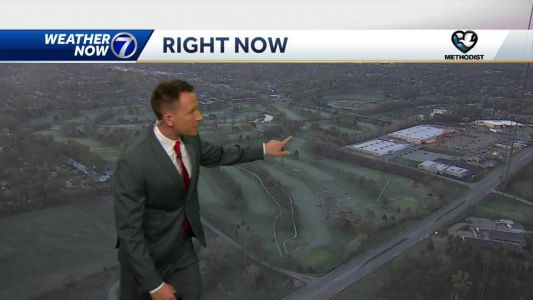 Clouds roll in Thursday, cooler temperatures continue