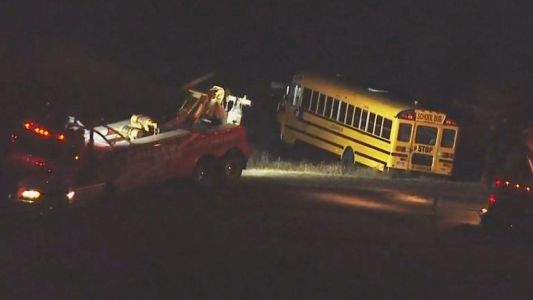 School bus driver never applied brakes before crash, sheriff's spokesperson says