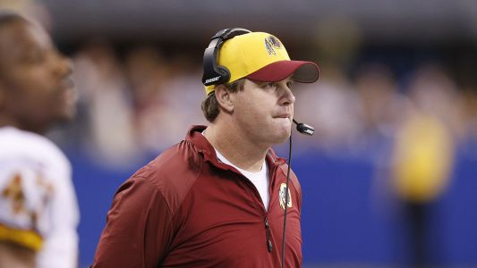 Jay Gruden says future with Redskins 'doesn't weigh' on him
